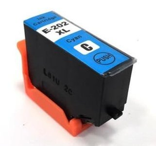 Huismerk Epson cartridges T202 XL Cyan
