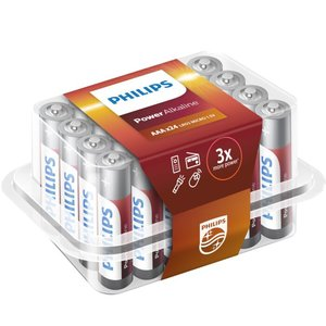 Philips Power Alkaline batterijen AAA 24-pack
