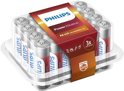 Philips Power Alkaline batterijen AA 24-pack