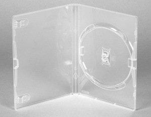 Amaray Dvd Box 1  14 mm Transparant 5 Stuks