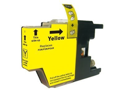 Compatible Brother LC1220 Yellow