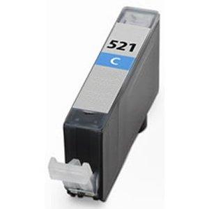 Huismerk Canon pixma mp560 inktcartridges Cli-521 Cyan (met Chip)