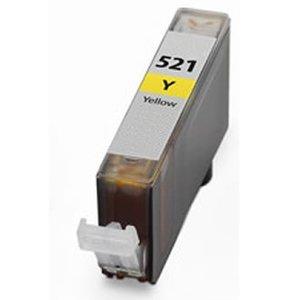 Huismerk Canon pixma mx870 inktcartridges Cli-521 Yellow (met Chip)