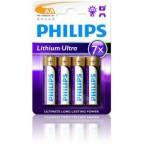 Philips Lithium Ultra AA 4-pak