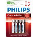 Philips Power Alkaline AAA 4-pak