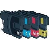 Huismerk Brother inktcartridges LC-1100 Set
