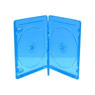 Blu-Ray  doosjes 3 disc transparant blauw 3 stuks 14mm