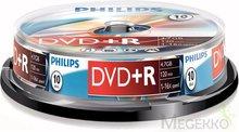 Philips DVD+R 4.7 GB 10 stuks