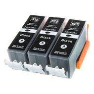 Huismerk Canon pixma mg5220 inktcartridges PGI-525 BK 3 stuks