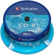 Verbatim CD-R 700 MB Extra Protection 25 stuks