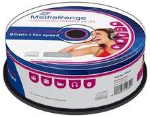 Mediarange Music CD-R 80 minuten 25 stuks