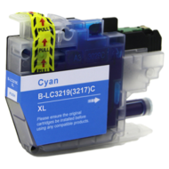 Huismerk Brother MFC-J5335DW inktcartridges LC-3219 XL Cyan