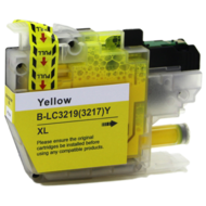 Huismerk Brother MFC-J5830DW inktcartridges LC-3219 XL Yellow