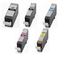 Huismerk Canon inktcartridges CLI-521 / PGI-520 set (met Chip)