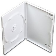 Dvd box 1  14 mm Wit 5 stuks