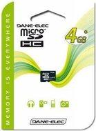 Dane-Elec microSDHC 4 GB