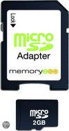 Memory2Go microSD 2 GB