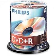 Philips DVD+R 4.7 GB 100 stuks