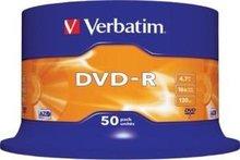 Verbatim DVD-R 4.7 GB DataLife Plus 50 stuks