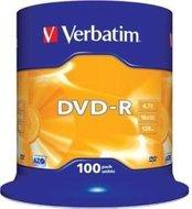 Verbatim DVD-R 4.7 GB DataLife Plus 100 stuks