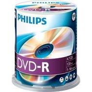 Philips DVD-R 4.7 GB 100 stuks