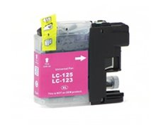 Compatible Brother LC-123 Magenta