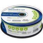 MediaRange DVD+R 4.7 GB Inkjet Printable 25 stuks
