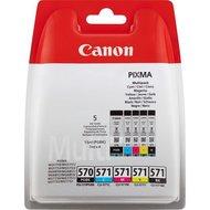 Canon PGI-570 / CLI-571 multipack PGBK/BK/C/M/Y (origineel)