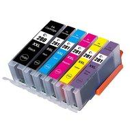 Canon pixma TS8150 inktcartridges CLI-581 XL / PGI-580 XL set 6 stuks