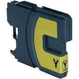 Huismerk Brother DCP-395CN inktcartridges LC-1100 Yellow