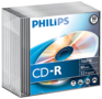 Philips CD-R 700 MB 10 stuks slimcase